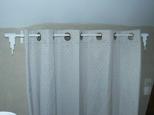 Tringle rideaux relook e - Installer une tringle a rideaux ...